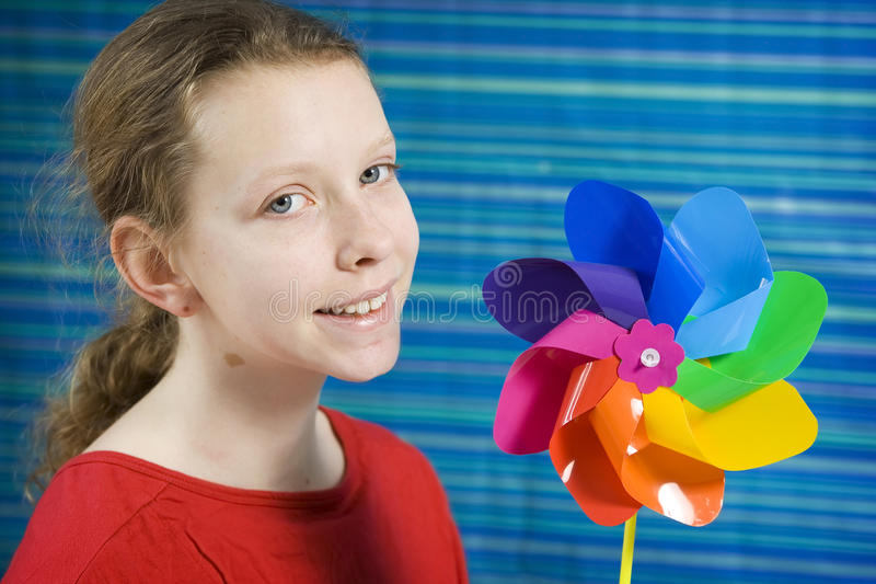 Download Pinwheel stock photo. Image of girl, play, playing, colorful - 26672644