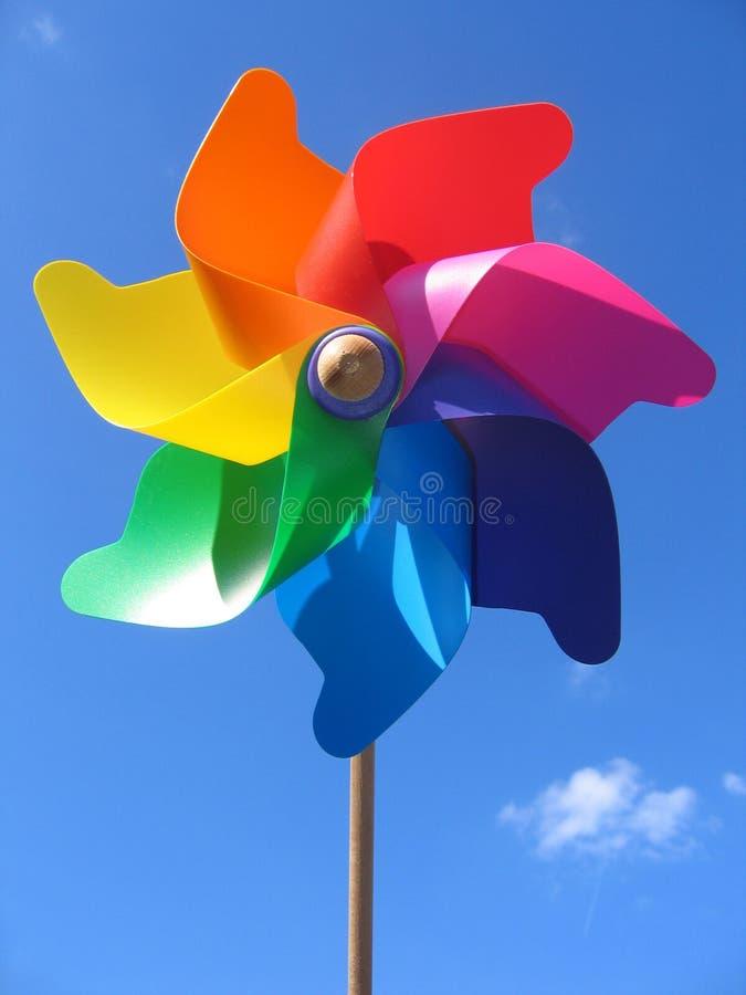 Download Pinwheel arkivfoto. Bild av lyckligt, wind, ungar, orange - 514948
