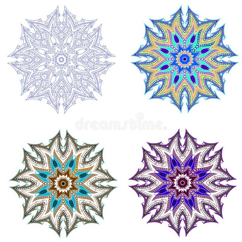 pinwheel stock illustratie