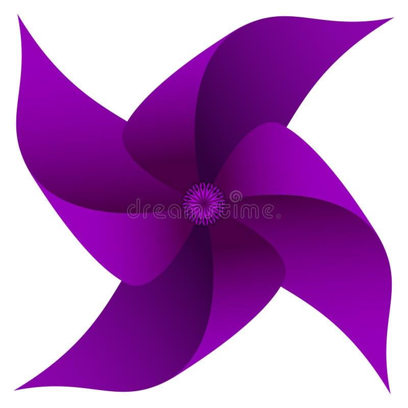 pinwheel royalty-vrije illustratie