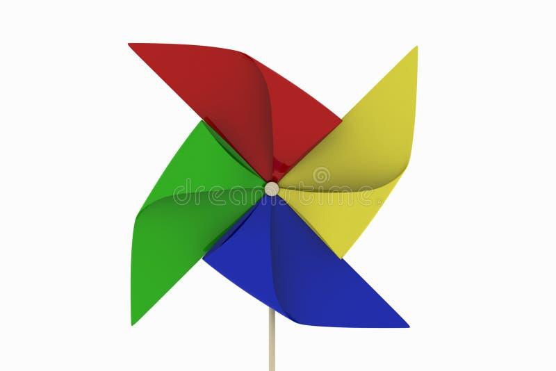 pinwheel ilustracji