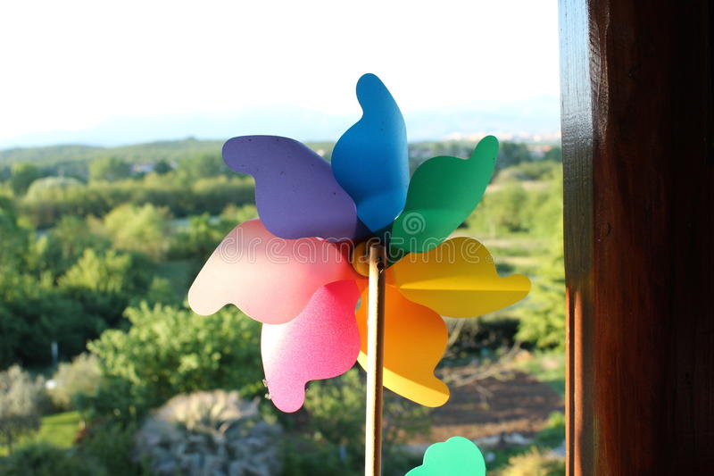 pinwheel stock foto's