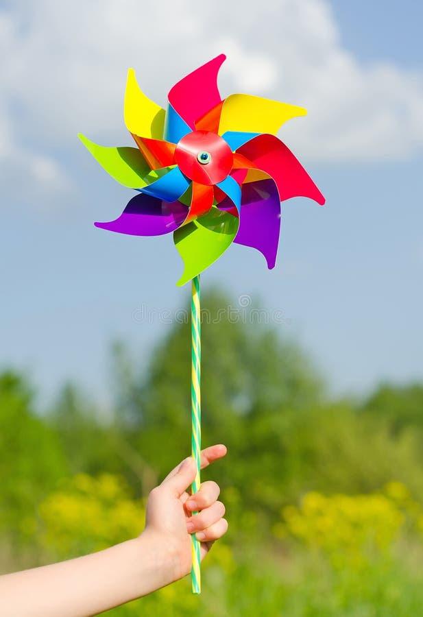 Pinwheel. stock image