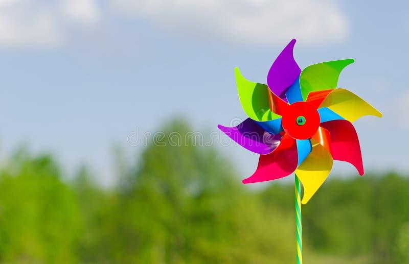 Pinwheel. royalty free stock photography