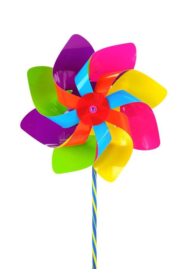 Pinwheel coloreado foto de archivo