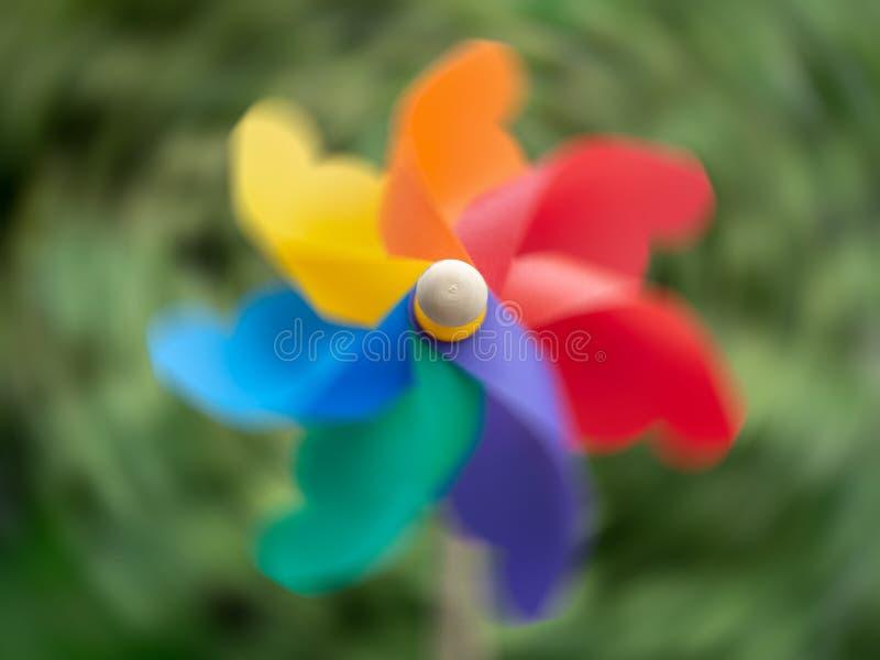 Pinwheel colorido foto de archivo libre de regalías