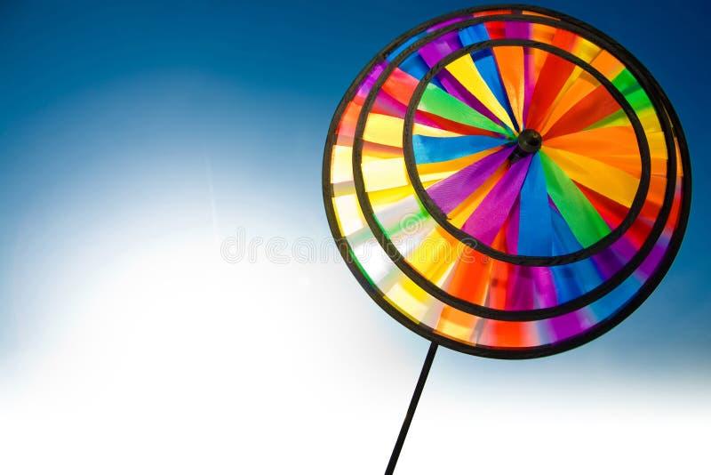 Pinwheel Colourful immagini stock libere da diritti