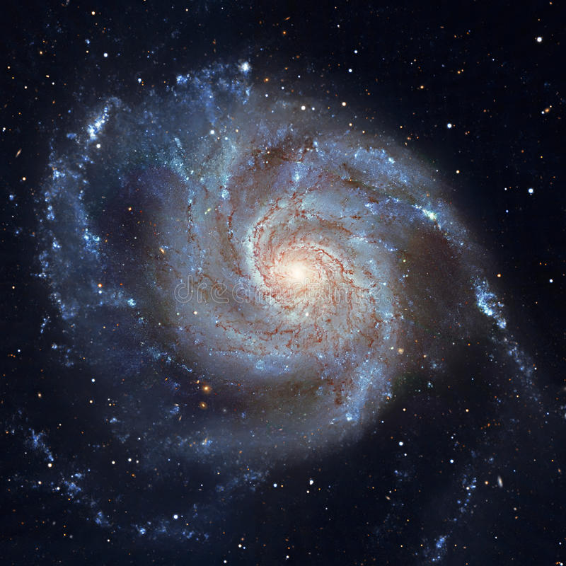 Download Pinwheel Galaxy Messier 101, M101 In The Constellation Ursa Major Stock Image - Image of barred, background: 96783875
