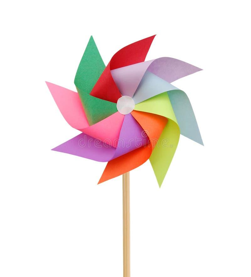 Pinwheel mezclado del color fotos de archivo