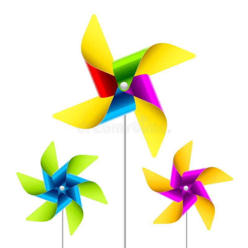 pinwheel zabawka royalty ilustracja