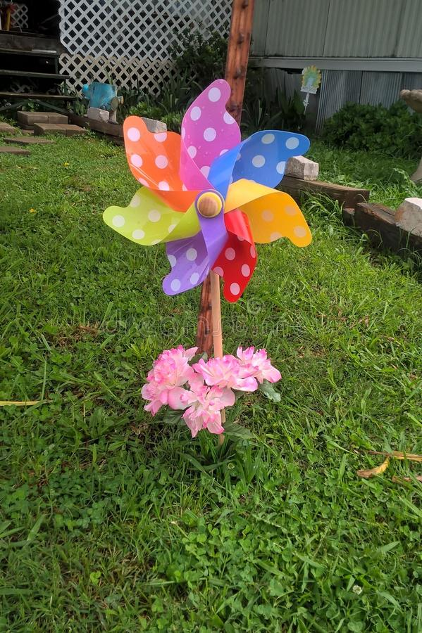 pinwheels stockfotos