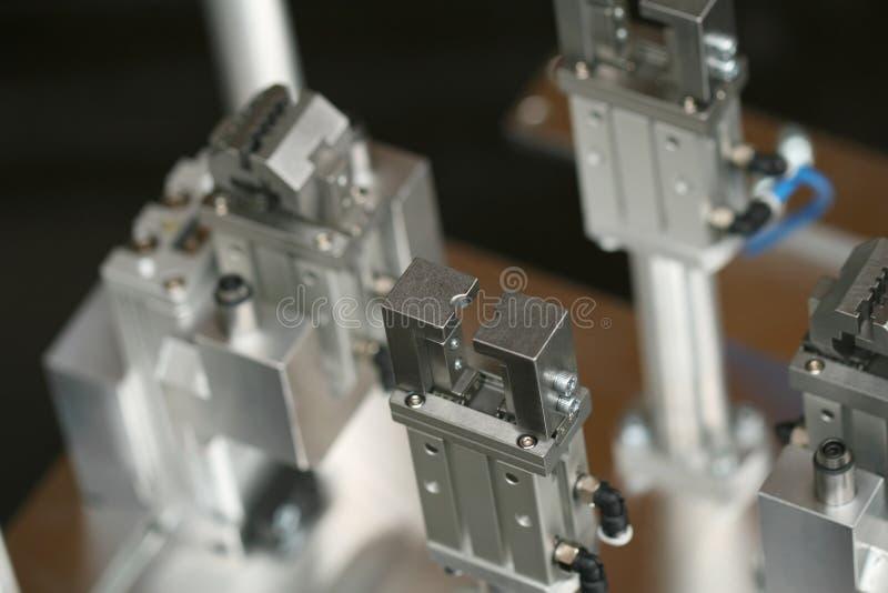 Pinza di presa del robot fotografia stock