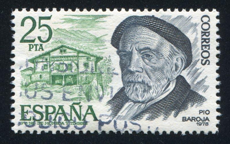 Pio Baroja стоковое изображение