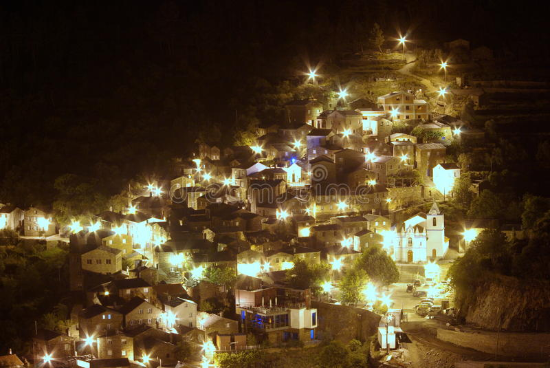 Piodao τη νύχτα στοκ εικόνες με δικαίωμα ελεύθερης χρήσης