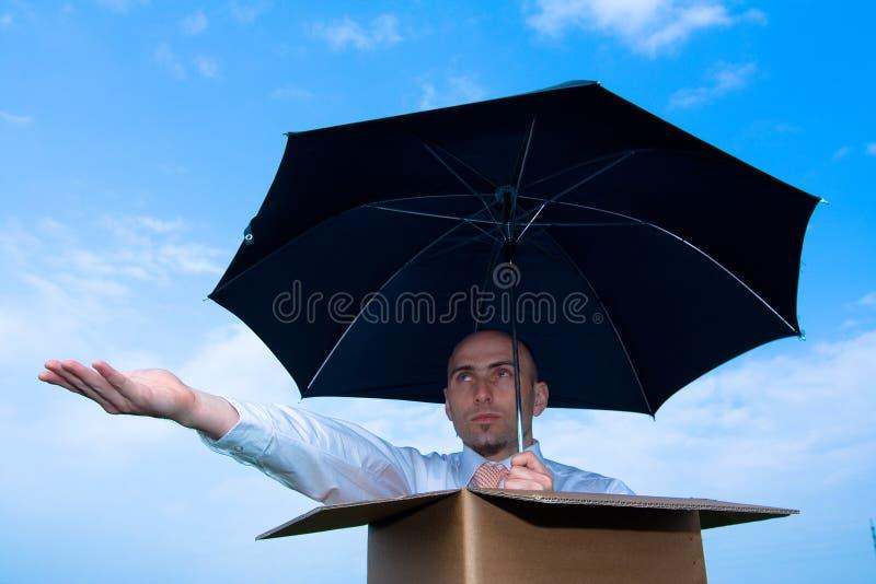 Pioggia? immagine stock