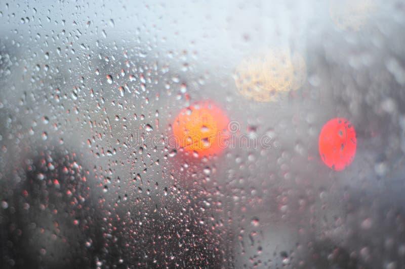 Pioggia e goccioline fotografie stock libere da diritti