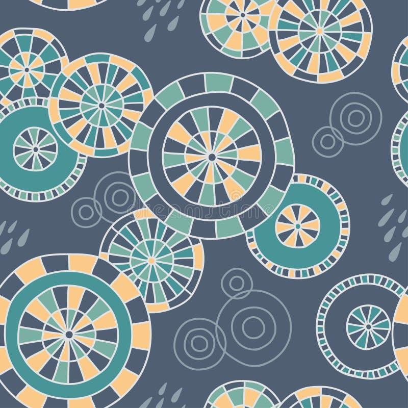 Download Pioggia A Kyoto - Modello Senza Cuciture Illustrazione Vettoriale - Illustrazione di semplice, ornamento: 55361061