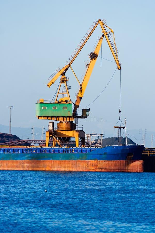 Piombino harbour, Italy. stock photos