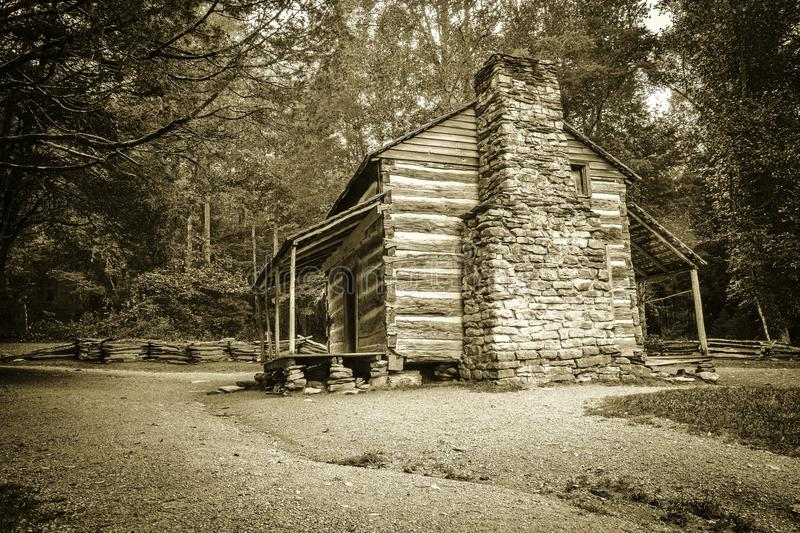 Pioneer Cabin royalty free stock images