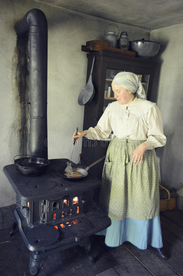 Pioneer Cook Editorial Stock Image