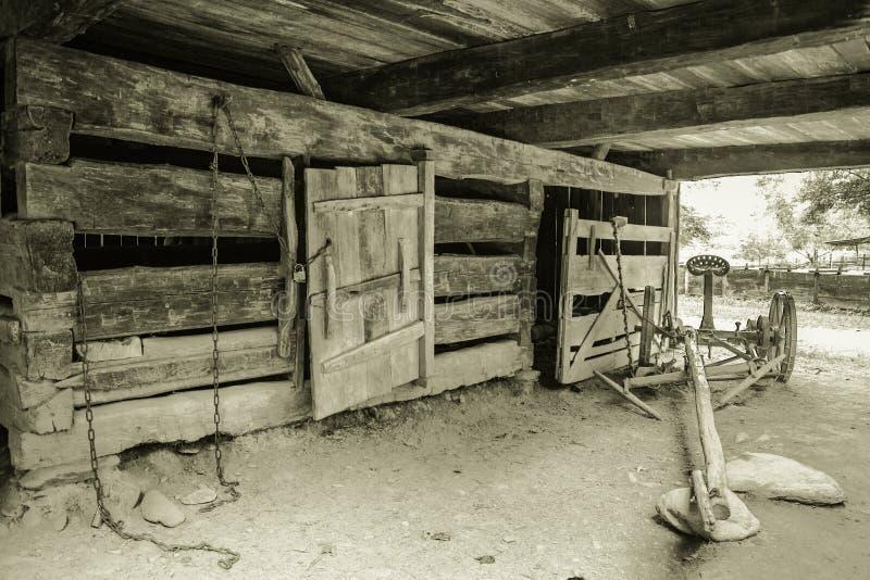 Pionierski gospodarstwo rolne fotografia royalty free