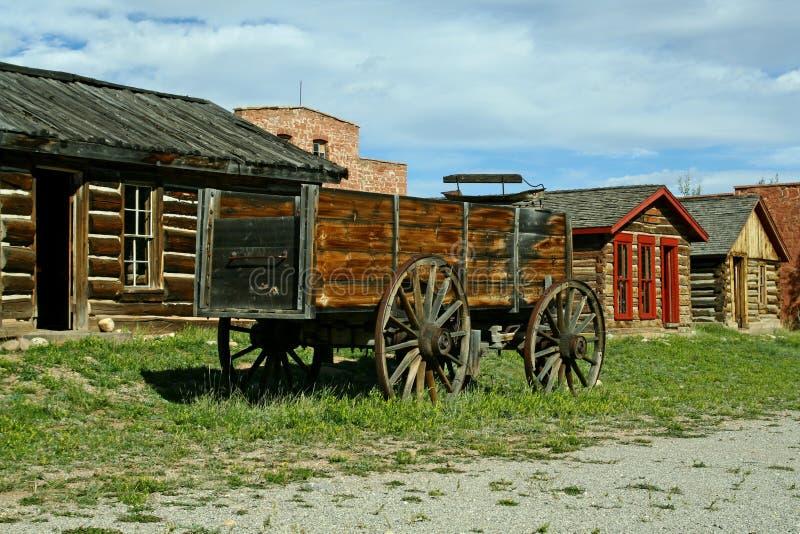 pionierski miasteczko obraz stock