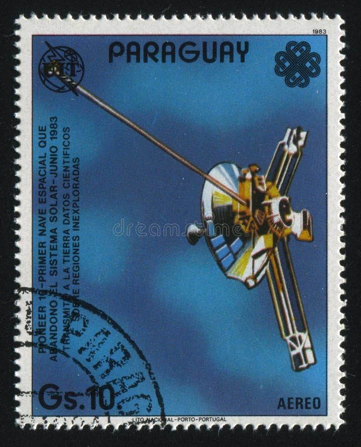 Pionnier de vaisseau spatial images stock