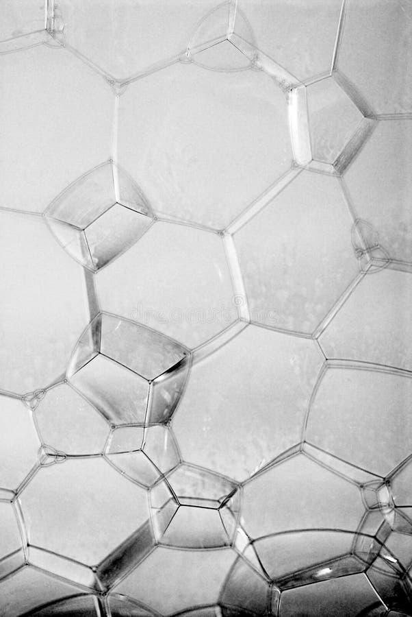 Pionowo bąbel ściana - czarny i biały