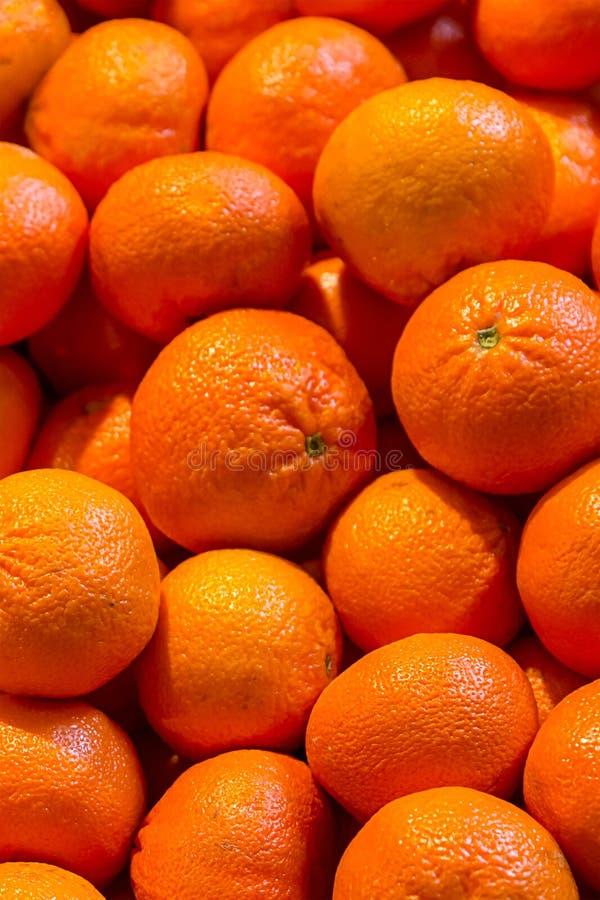 Pionowo deseniowej soczystej jaskrawej tangerine stroju jednoczęściowy owoc cytrusa tła deseru bazy ustalony pomarańczowy projekt obrazy royalty free