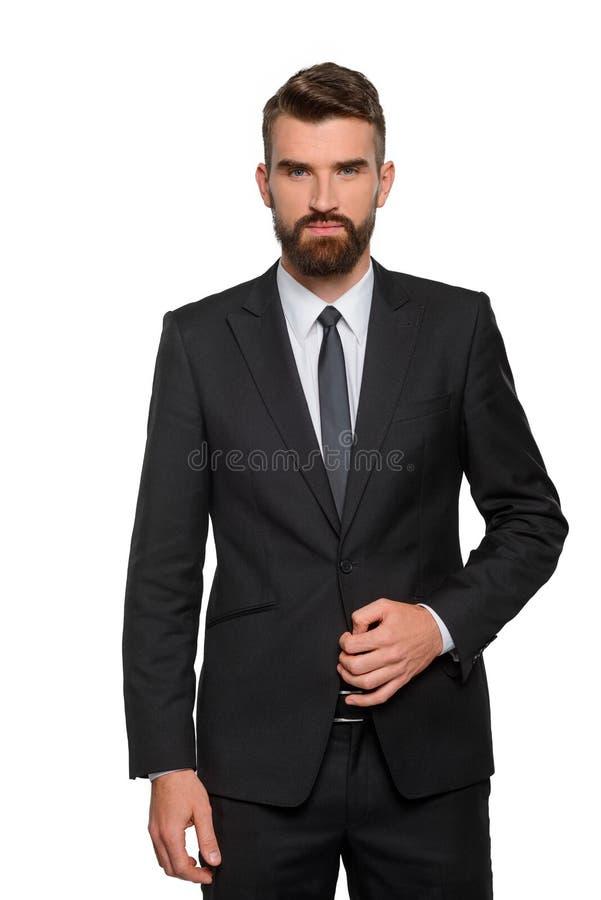 Pionowo portret biznesmen obraz stock