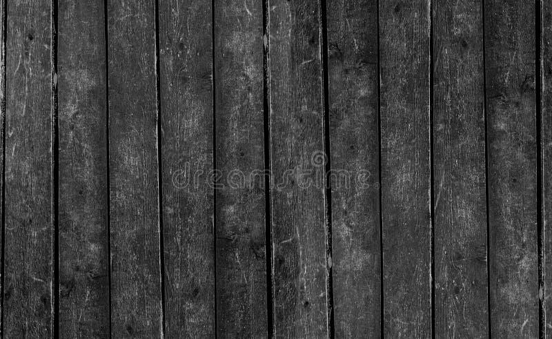 Pionowo rzędu czerni monochromu deski panel niekończący się serii zmroku bazy podstawowy projekt fotografia royalty free