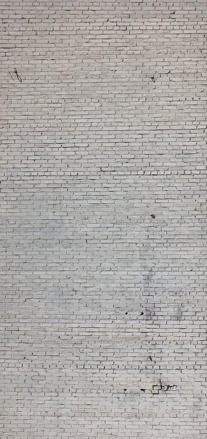 Pionowo tekstura ceglany światło używał ścianę zdjęcia stock
