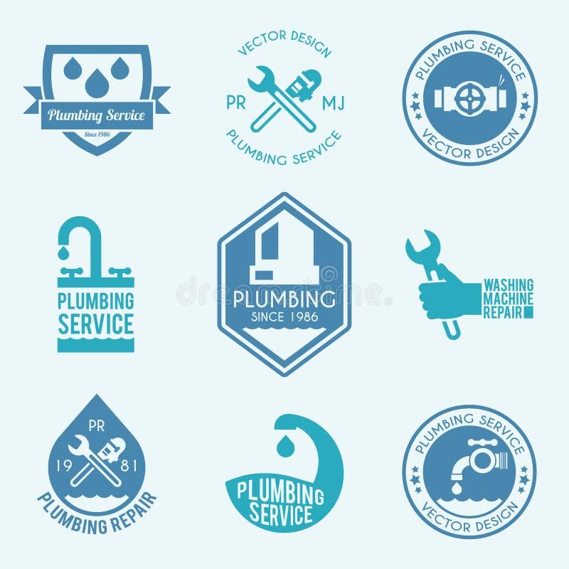 Pionujący etykietek ikony ustawiać royalty ilustracja