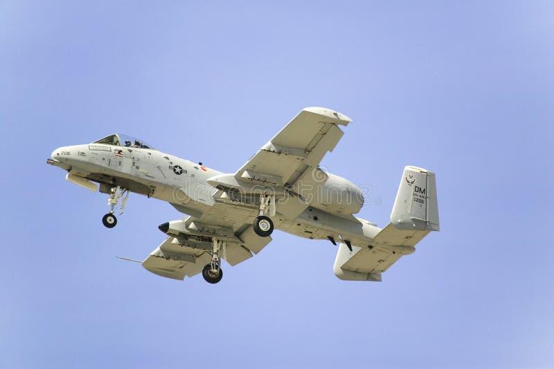 A-10A piorun II obrazy stock