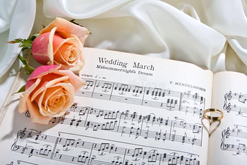 piosenka ślub zdjęcia stock