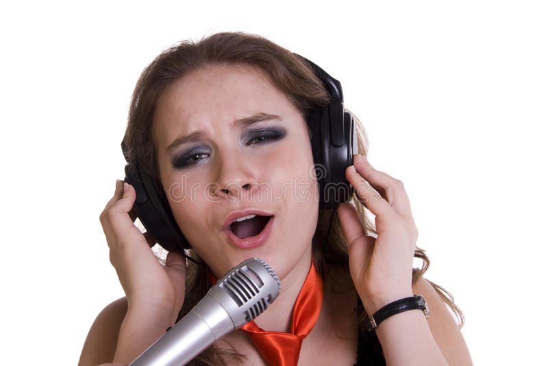 piosenkarz obrazy royalty free