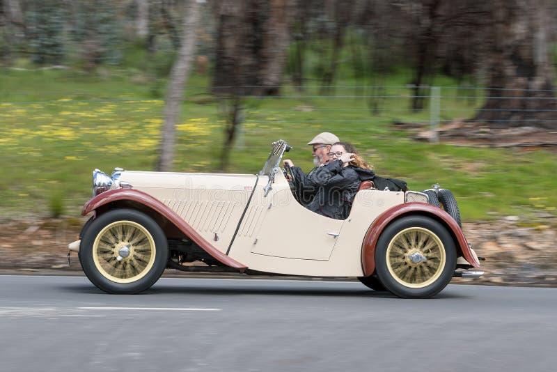 1934 piosenkarza Le Mans terenówka obraz stock