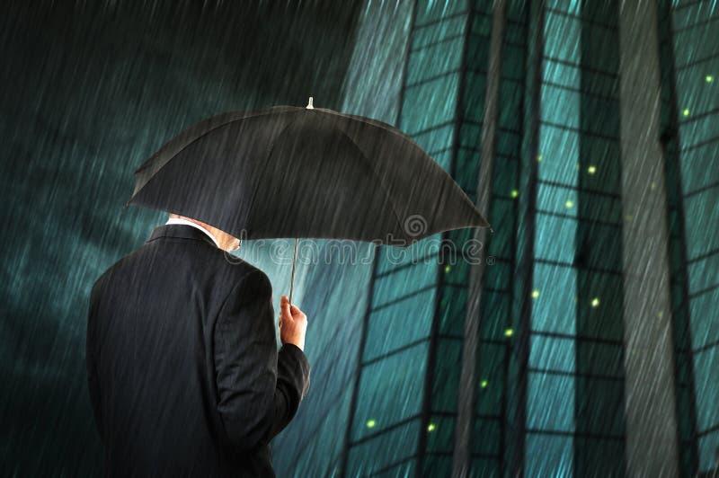 Piova giù fotografia stock libera da diritti