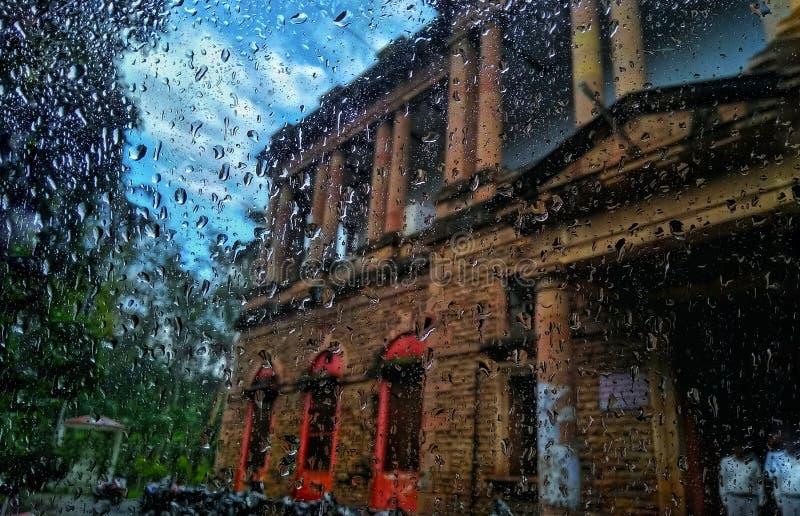 Piova le gocce fotografia stock libera da diritti