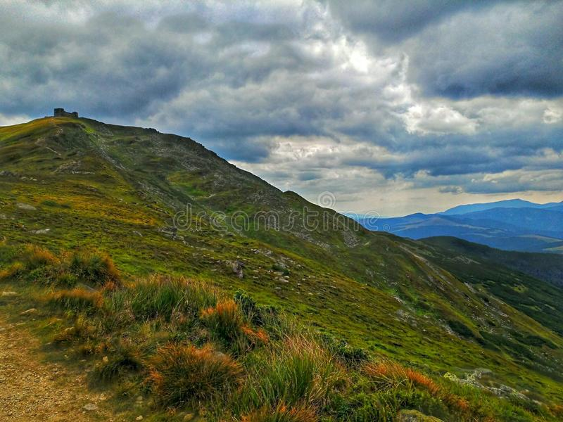 Pip Ivan Mountain arkivbild