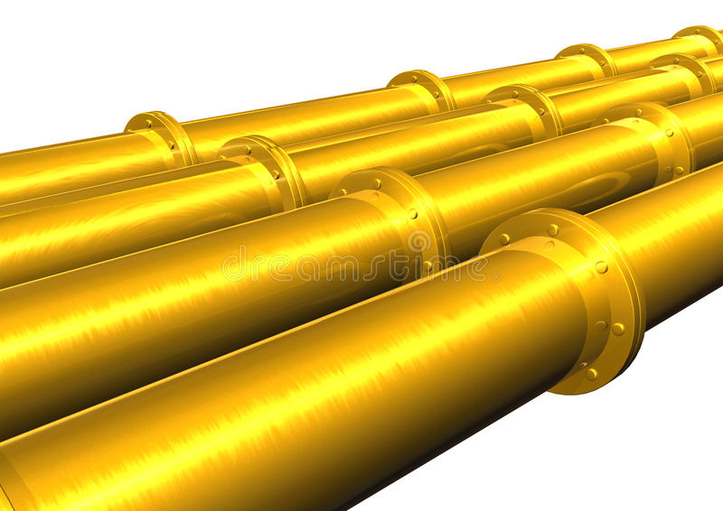 Download Pipe stock illustration. Image of power, steam, copper - 12947777