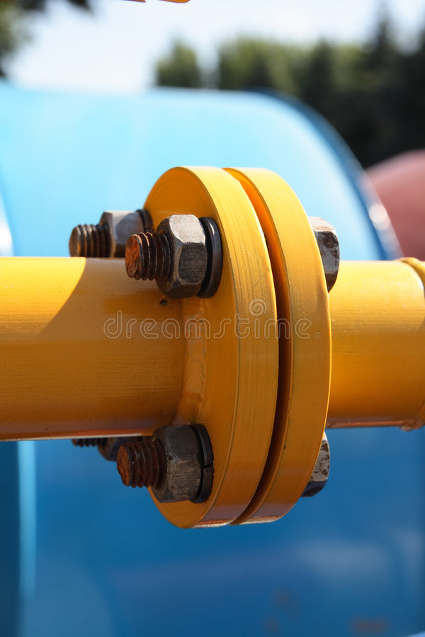 Download Pipe connect. stock image. Image of wood, tube, flange - 7800431