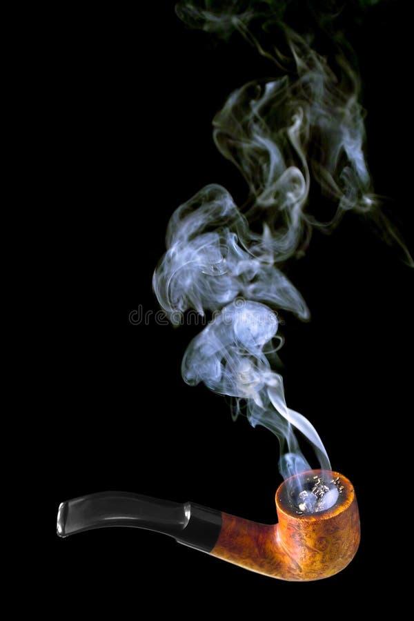 Pipe de fumage photos libres de droits