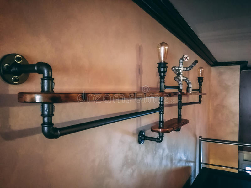 Pipe decoration stock photography