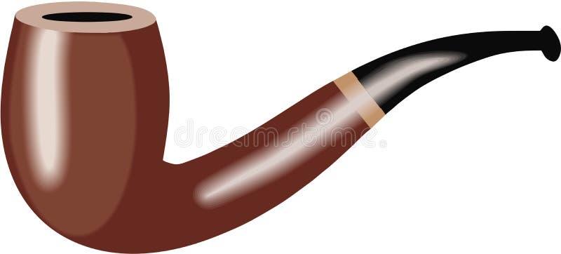 Pipe Illustration. Brown black Pipe Illustration vector illustration