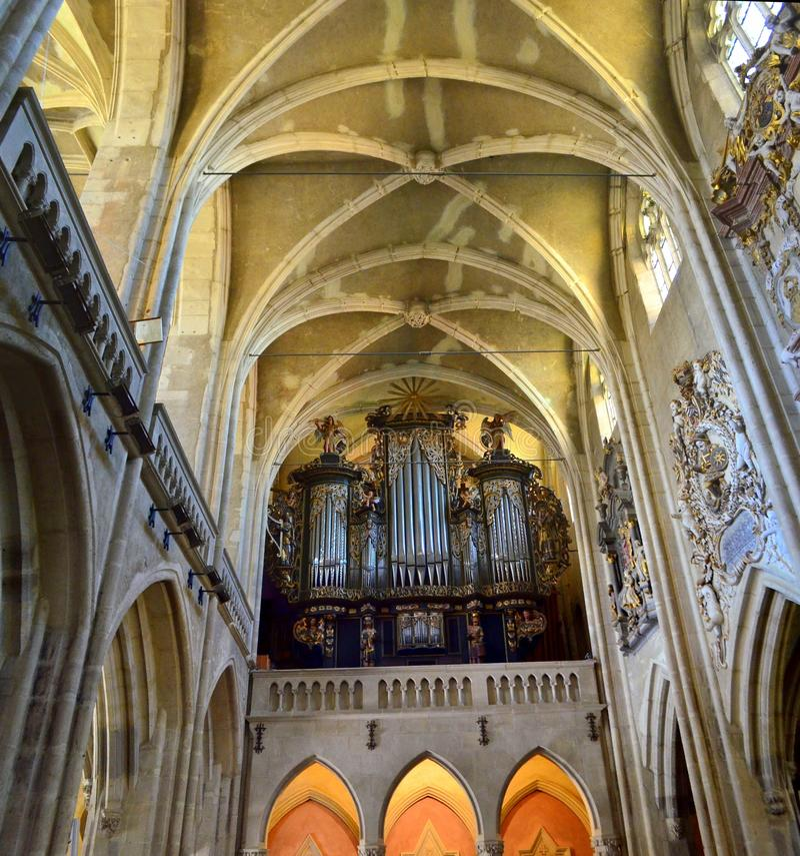 Pipe organ royalty free stock photos