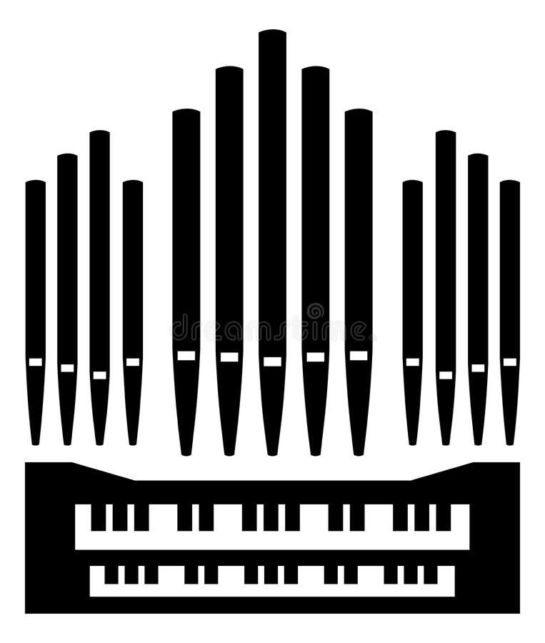 Free Pipe Organ Instrument Icon Stock Photos - 171711613