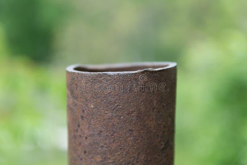 Pipe rouillée image stock