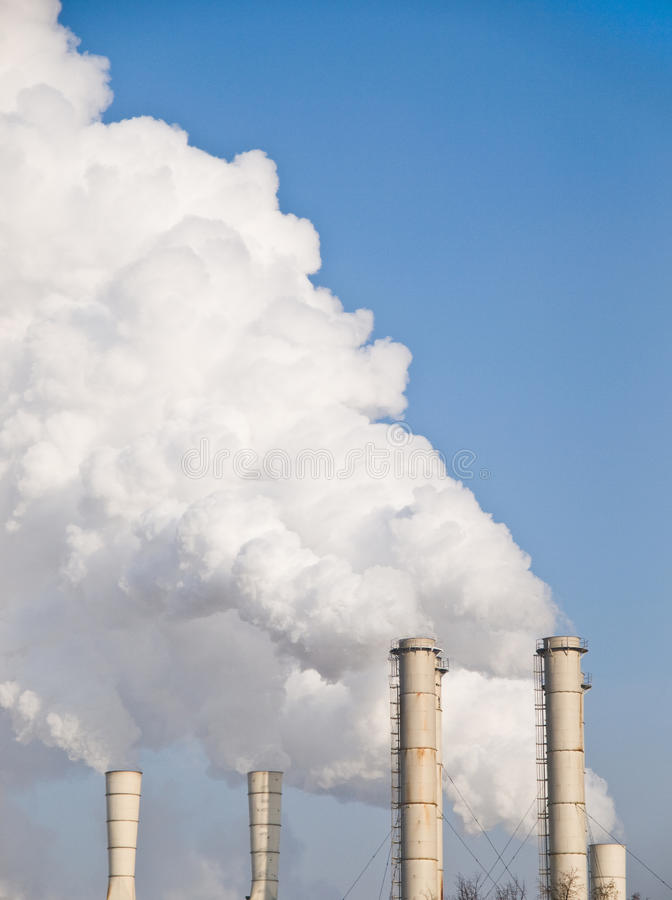 Pipe Smoke Stock Image