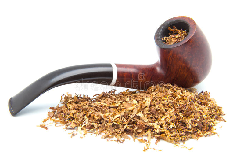 Pipe to smoke tobacco royalty free stock images